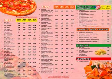 Pizza flyer Lang Din