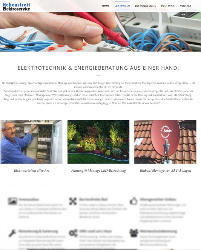 Homepage Gestaltung Webseiten Zum Komplettpreis